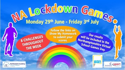 NA Lockdown Games - Your Virtual Sports Day!