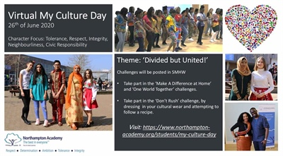 Virtual My Culture Day