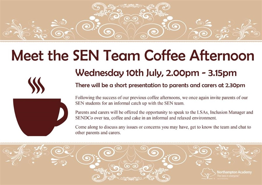 SEN Coffee Afternoon - Meet The Team